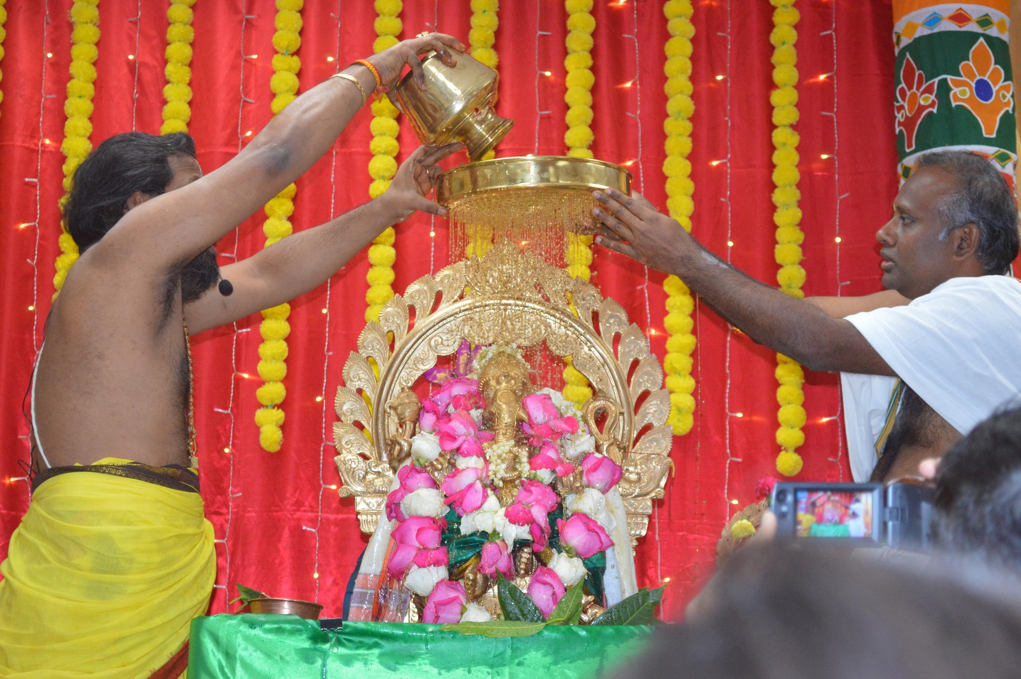 Prana Prathishtha Sunday Abhisheka